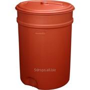 Пластиковая бочка 205 литров коническая фото