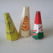 Упаковка для конусной пиццы. фото