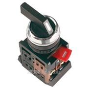 Кнопка ALCLR-22 (черный.на 3 полож) IEK (200) фото