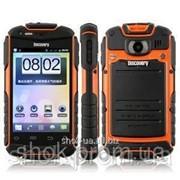 Водонепроницаемый, защищенный телефон Discovery V5+ WIFI*GPS. Доставка 10 дней фото