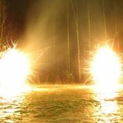 Огненные фонтаны фото
