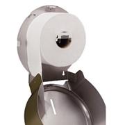 Дозатор для туалетной бумаги мини Джамбо Bronze фото