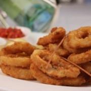 Кольца кальмара Горячие закуски фото