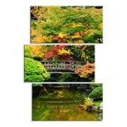 Картина Ручей в японском саду фото