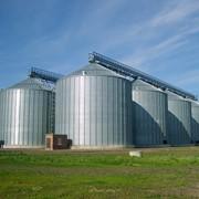 Зернохранилища, зернокомплексы фото