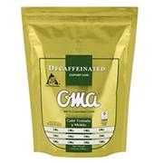 Кофе OMA 100% натуральный жареный молотый (без кофеина) фото