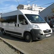 Аренда микроавтобуса Пежо