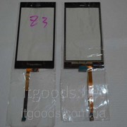 Оригинальный тачскрин / сенсор (сенсорное стекло) для BlackBerry Z3 (черный цвет) + СКОТЧ В ПОДАРОК