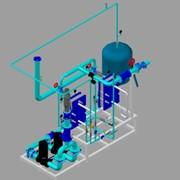 Проект ИТП: Тепловой пункт, по адресу: г.Клин,завод «СанИнтербрю» фото
