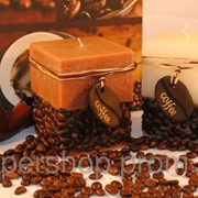 Ароматизированная свеча - куб Кофе 118-108829 фото