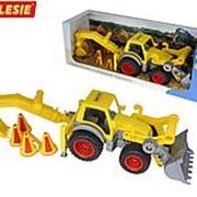 """""""КонсТрак"""", трактор-погрузчик с ковшом (в коробке) фото"""