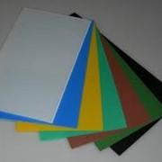 Лист из АБС-пластика фото