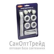 "Комплект для монтажа радиаторов 3/4"" с тремя кронштейнами TiM фото"