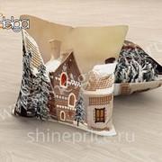Зимняя сказка арт.ТФП2919 (45х45-1шт) фотоподушка (подушка Габардин ТФП)