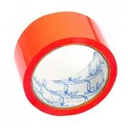 Клейкая лента красная 48мм х 50м / 45мкм, арт. 4568 фото