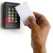 Установка системы контроля доступа. фото
