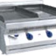 Электрический аппарат контактной обработки типа АКО для приготовления пищи путем непосредственного контакта греющией поверхности с одной стороной обрабатываемого продукта. Используется на предприятиях общественного питания фото