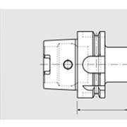 Быстросменный резьбонарезной патрон HSK - A 63 / DIN 69893 фото