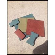 Резиновая плитка и травмобезопасные покрытия фото