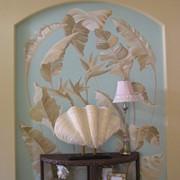Художественная роспись стен, фото