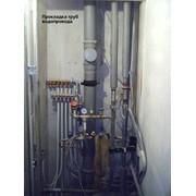 Прокладка внутренних систем водопровода фото