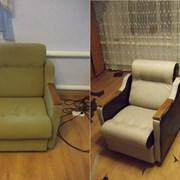 Перетяжка(обивка) и ремонт мягкой мебели. фото
