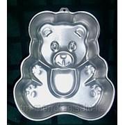 Формы для выпечки Клубника, Черепаха, Ракушка, Медведь фото