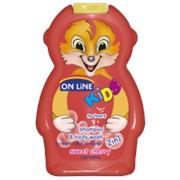 On Line kids шампунь + пена для ванн черешня, 250 мл фото