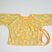 Распашонка с рукавичками 3338/1-к кулирная гладь, размер 40-62 фото