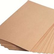 Бумага оберточная, марки Е, резанная фото