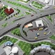 Строительство транспортных сетей. фото