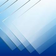 Листовой ПЭТ пластик 3000х2000х1,0мм прозрачный фото