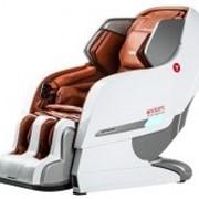 Массажное кресло YamaguchiAxiom YA-6000 Бело-рыжее фото