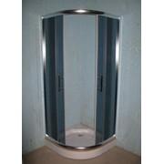 Кабина душ. Delfi 609G/606G (стекло серое) поддон 15/45см фото