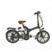 Складной велосипед с электроприводом Motus 2P Rim на литых дисках фото