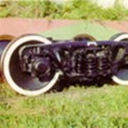 Тележка двухосная модели 18-9875 тип 2. ГОСТ 9246-2004 фото
