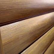 Металлосайдинг под бревно-по форме напоминающее калиброванное бревно. фото