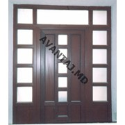 Двери из красного дерева, арт. 2 фото