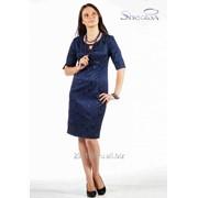 Платье 3746 Синий цвет фото