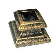 Чашка-стойки КС высокая текстурный чёрный с золотом кв14, артикул 14128 фото