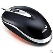 Мышь Genius Mini Traveler Laser, Black, USB фото