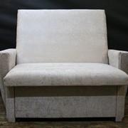 Кресло-кровать кремовое фото