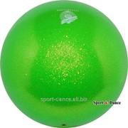 Мяч HIGH VISION зеленый,18см, вес 400 гр. фото