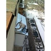 Монтаж балконного козырька в алматы, Алматы фото
