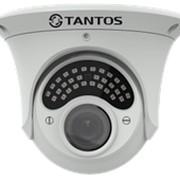 TSc-E1080pUVCv (2.8-12) Антивандальная купольная универсальная видеокамера UVC 4в1 (AHD, TVI, CVI, CVBS) 2 МП