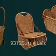Кресло-корзины, корзины на колесиках фото