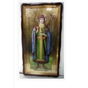 Икона в фигурном киоте, с багетом Храмовая Глеб, Святой князь, 60х110
