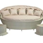 Диван с навесом, диван с навесом MUSE, диван и 2 тумбы фото