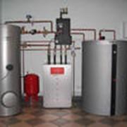 Монтаж систем водоочистки фото