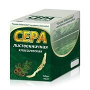 Сера, живица, смолка Байкальская жевательная, 3 грамма, наклейка фото